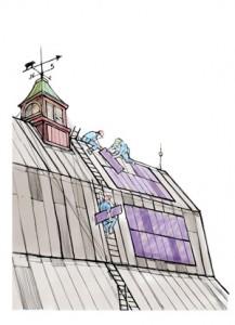 Danziger TEC-Solar cartoon
