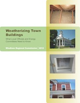 Weatherizing Town Buildings Guide Cover